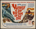 "Movie Posters:Adventure, Voyage to the Bottom of the Sea (20th Century Fox, 1961). HalfSheet (22"" X 28""). Sci-Fi Adventure. Starring Walter Pidgeon,..."