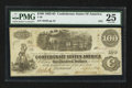 Confederate Notes:1862 Issues, T40 $100 1862 PF-3.. ...