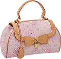 "Luxury Accessories:Bags, Louis Vuitton Murakami Pink Cherry Blossom Sac Retro Bag, 12"" x 8""x 4"", Excellent Condition. ..."