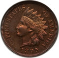 Proof Indian Cents: , 1895 1C PR65 Red and Brown NGC. NGC Census: (117/30). PCGSPopulation (37/10). Mintage: 2,062. Numismedia Wsl. Price for pr...