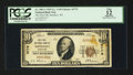 National Bank Notes:Wisconsin, Mondovi, WI - $10 1929 Ty. 1 The First NB Ch. # 5779. ...