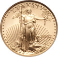 Modern Bullion Coins, 2002 G$25 Half-Ounce Gold Eagle MS70 NGC. NGC Census: (973). PCGSPopulation (9). Numismedia Wsl. Price for problem free N...