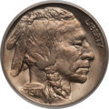 Buffalo Nickels: , 1917 5C MS66 PCGS. PCGS Population (137/12). NGC Census: (45/6).Mintage: 51,424,020. Numismedia Wsl. Price for problem fre...