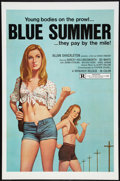 """Movie Posters:Sexploitation, Blue Summer Lot (Monarch, 1973). One Sheets (3) (27"""" X 41"""").Sexploitation.. ... (Total: 3 Items)"""