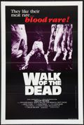 "Movie Posters:Horror, Walk of the Dead Lot (Independent, 1981). One Sheets (3) (27"" X 41""). Horror.. ... (Total: 3 Items)"