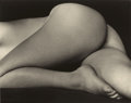 Photographs, EDWARD WESTON (American, 1886-1958). Nude (Charis), 1934. Gelatin silver, printed later by Cole Weston. 3-1/8 x 4-1/2 in...