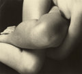 Photographs:20th Century, EDWARD WESTON (American, 1886-1958). Charis, 1934. Gelatinsilver, printed later by Cole Weston. 3-1/2 x 4-1/2 inches (8...