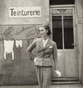 Photographs, LOUISE DAHL-WOLFE (American, 1895-1989). Chanel Fashion Study, April, 1955. Vintage gelatin silver. Paper: 11 x 11-1/2 i...