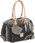 "Luxury Accessories:Bags, Louis Vuitton Monogram Denim Patchwork Bowly Bag, 15"" x 9"" x 8"", Excellent Condition. ..."