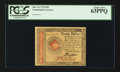 Colonial Notes:Continental Congress Issues, Continental Currency January 14, 1779 $20 PCGS Choice New 63PPQ.....