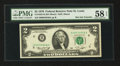Error Notes:Miscellaneous Errors, Fr. 1935-H $2 1976 Federal Reserve Note. PMG Choice About Unc 58 EPQ.. ...