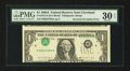Error Notes:Inverted Third Printings, Fr. 1915-D $1 1988A Federal Reserve Note. PMG Very Fine 30 EPQ.....