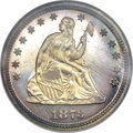 Proof Seated Quarters, 1873 25C No Arrows PR68 NGC....