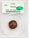 Early Proof Sets, 1898 Five-Piece Proof Set PCGS, CAC.... (Total: 5 coins)