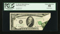 Error Notes:Foldovers, Fr. 2011-B $10 1950A Federal Reserve Note. PCGS Choice About New58.. ...