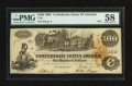 Confederate Notes:1862 Issues, T39 $100 1862 PF-1.. ...