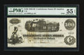 Confederate Notes:1862 Issues, T40 $100 1862 PF-20.. ...