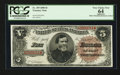 Large Size:Treasury Notes, Fr. 359 $5 1890 Treasury Note PCGS Apparent Very Choice New 64.. ...