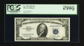 Small Size:Silver Certificates, Fr. 1706 $10 1953 Silver Certificate. PCGS Superb Gem New 67PPQ.. ...