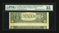 Error Notes:Inverted Reverses, Fr. 1915-B $1 1988A Inverted Reverse Federal Reserve Note. PMGChoice Very Fine 35.. ...