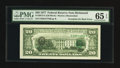 Error Notes:Third Printing on Reverse, Fr. 2072-E $20 1977 Federal Reserve Note. PMG Gem Uncirculated 65 EPQ.. ...