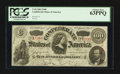 Confederate Notes:1863 Issues, T56 $100 1863.. ...