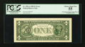 Error Notes:Third Printing on Reverse, Fr. 1921-A $1 1995 Federal Reserve Note. PCGS Choice About New 55.. ...