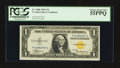 Small Size:World War II Emergency Notes, Fr. 2306 $1 1935A North Africa Silver Certificate. PCGS Choice About New 55PPQ.. ...