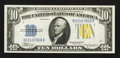 Small Size:World War II Emergency Notes, Fr. 2309 $10 1934A North Africa Silver Certificate. Choice Crisp Uncirculated.. ...
