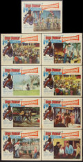 """Movie Posters:Elvis Presley, Roustabout (Paramount, 1964). Lobby Card Set of 8 and Lobby Card(11"""" X 14""""). Elvis Presley.. ... (Total: 9 Items)"""