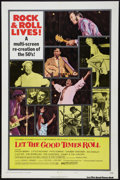 "Movie Posters:Rock and Roll, Let the Good Times Roll Lot (Columbia, 1973). One Sheet (27"" X 41"")Style B, Lobby Cards (5) (11"" X 14""), and Pressbook (11""... (Total:7 Items)"