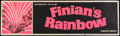 """Movie Posters:Fantasy, Finian's Rainbow (Warner Brothers, 1968). Banner (24"""" x 82"""").Fantasy.. ..."""