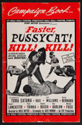 "Movie Posters:Sexploitation, Faster, Pussycat! Kill! Kill! (Eve Productions, 1965). Pressbook(Multiple Pages) (11"" X 17""). Sexploitation.. ..."