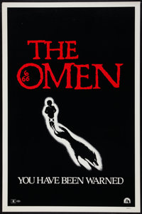 "The Omen (20th Century Fox, 1976). One Sheet (27"" X 41"") Advance. Horror"