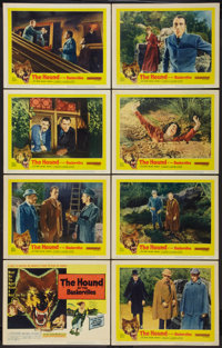 """The Hound of the Baskervilles (United Artists, 1959). Lobby Card Set of 8 (11"""" X 14""""). Mystery. ... (Total: 8..."""