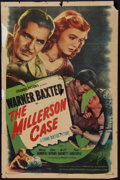 "Movie Posters:Mystery, The Millerson Case (Columbia, 1947). One Sheet (27"" X 41"").Mystery.. ..."