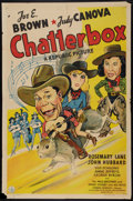 """Movie Posters:Comedy, Chatterbox (Republic, 1943). One Sheet (27"""" X 41""""). Comedy.. ..."""