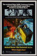 "Movie Posters:War, Where Eagles Dare (MGM, 1968). One Sheet (27"" X 41""). War.. ..."