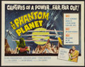 "Movie Posters:Science Fiction, The Phantom Planet (Four Crown, 1962). Half Sheet (22"" X 28"").Science Fiction.. ..."