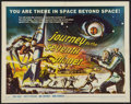 "Movie Posters:Science Fiction, Journey to the Seventh Planet (American International, 1961). HalfSheet (22"" X 28""). Science Fiction.. ..."
