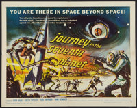 """Journey to the Seventh Planet (American International, 1961). Half Sheet (22"""" X 28""""). Science Fiction"""