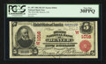 National Bank Notes:Colorado, Denver, CO - $5 1902 Red Seal Fr. 587 The First NB Ch. # (W)1016. ...
