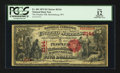 National Bank Notes:West Virginia, Martinsburg, WV - $5 1875 Fr. 401 The Peoples NB Ch. # 2144. ...