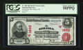 National Bank Notes:Nebraska, Omaha, NE - $5 1902 Red Seal Fr. 588 The Omaha NB Ch. # (W)1633. ...