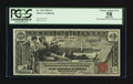 Large Size:Silver Certificates, Fr. 224 $1 1896 Silver Certificate PCGS Apparent Choice About New 58.. ...