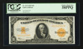 Large Size:Gold Certificates, Fr. 1173 $10 1922 Gold Certificate PCGS Choice About New 58PPQ.....