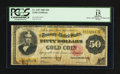 Large Size:Gold Certificates, Fr. 1197 $50 1882 Gold Certificate PCGS Apparent Fine 15.. ...