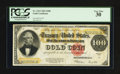 Large Size:Gold Certificates, Fr. 1215 $100 1922 Gold Certificate PCGS Very Fine 30.. ...