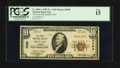 National Bank Notes:Wyoming, Buffalo, WY - $10 1929 Ty. 1 The First NB Ch. # 3299. ...