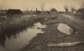 Photographs:19th Century, P. H. EMERSON (British, 1856-1936). Twixt Land and Water,Plate XXXVI, 1886. Vintage platinum. 7 x 11-1/4 inches (17.8 x...